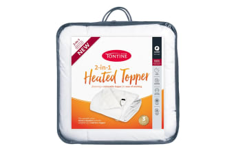 Tontine 2-in-1 Microfibre Heated Topper
