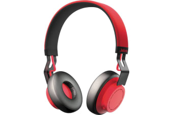 Jabra Move Bluetooth Headphones - Wireless Red
