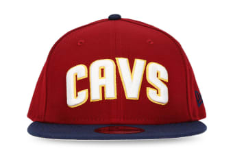 New Era Cleveland Cavaliers 9FIFTY Adult Snapback Cap/Hat NBA Basketball Maroon