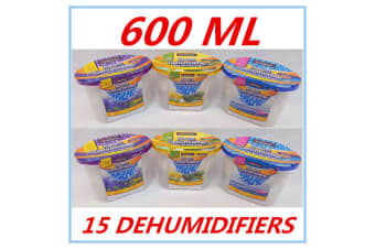 15 X ROOM DEHUMIDIFIER AIR FRESHENER CARAVANS WARDROBES BOATS GARAGE CUPBOARD FD