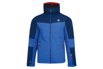 Dare 2b Mens Domain Quilted Ski Jacket (Admiral Blue/Oxford Blue)