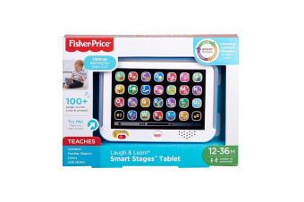 Fisher-Price Laugh & Learn Smart Stages Tablet - Blue