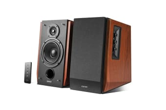 Edifier Studio 2.0 Bluetooth Bookshelf Speakers - Brown (R1700BT)