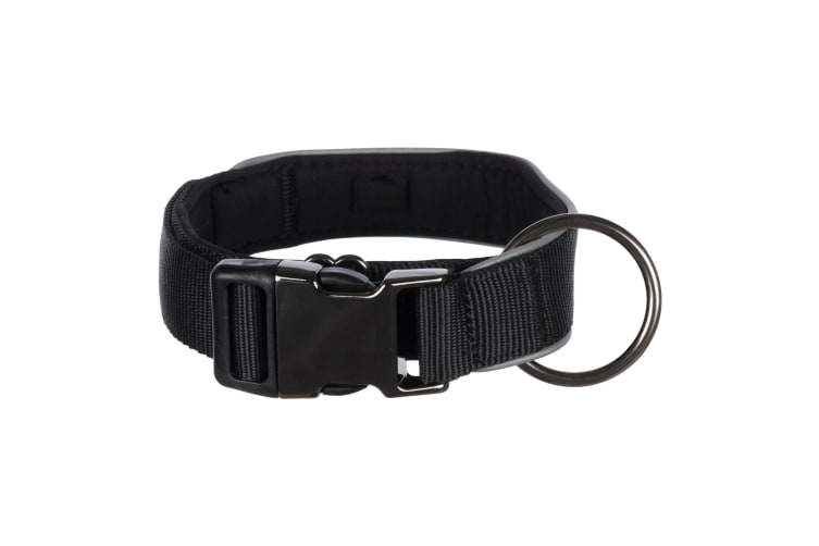 Trixie Experience Dog Collar Extra Wide (Black) (L–XL)