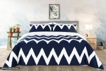 Ovela Onda Cotton Quilt Cover Set