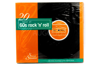 20 Best of 60s rock 'n' roll BRAND NEW SEALED MUSIC ALBUM CD - AU STOCK
