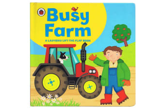 Busy Farm, by Ladybird