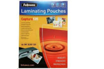 Fellowes 53074 Laminating Pouch A4 100pk 125 Micron