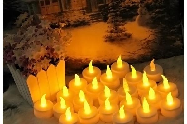Simulation Led Tealight 6Pcs