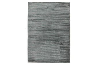 Pandora Contemporary Stripe Rug Blue Grey