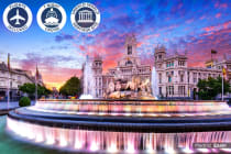 EUROPE: 20 Day Western Mediterranean Symphony Package Including Flights for Two