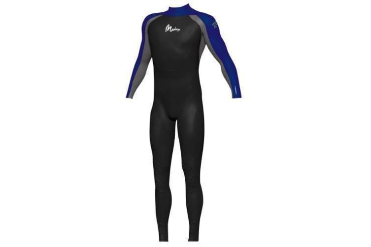 Maddog Men's Superstretch Steamer 3/2mm Wetsuits - (Black/Blue) Small