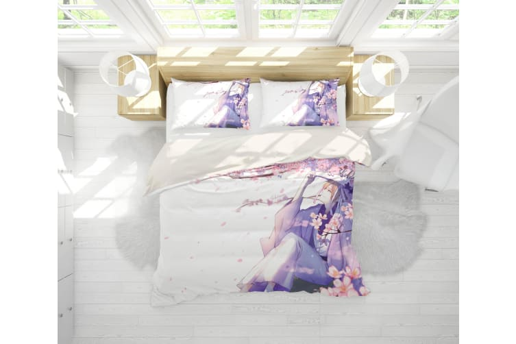 3D Anime Return Name Quilt Cover Set Bedding Set Pillowcases 20-Double