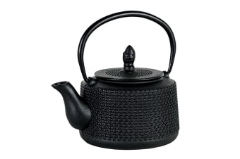 Avanti 750ml Emperor Hobnail Cast Iron Teapot w Removable Infuser Lid Tea Pot