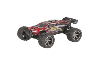 TechBrands 1:12 Scale Red Racing Truggy 2.4GHz