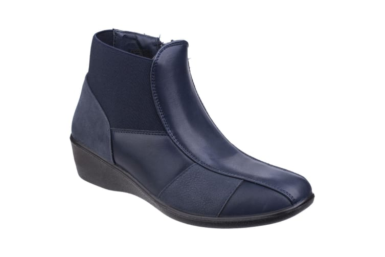 Fleet & Foster Womens/Ladies Festa Ankle Boots (Black) (6 UK)