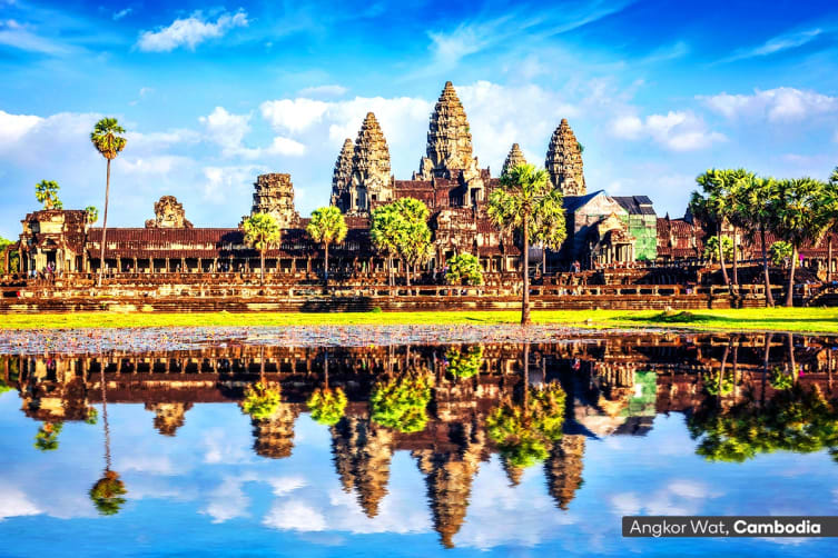 VIETNAM & CAMBODIA: 10 Day Vietnam and Cambodia Exploration Tour for Two (Deluxe)