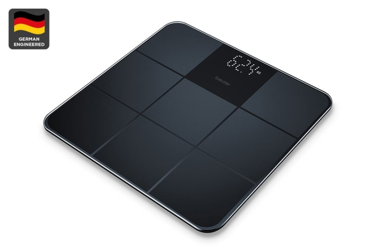 Beurer Digital Glass Scale - Black (GS235)