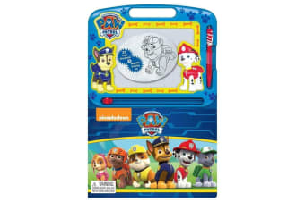 Paw Patrol Learning Book with Magnetic Drawing Pad