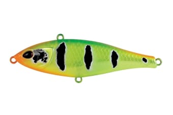 Bone Dash 90S Sinking Pencil Bait Fishing Lure - 90mm Vibe Lure-33gm Search Bait [Colour: Crazy Temme]