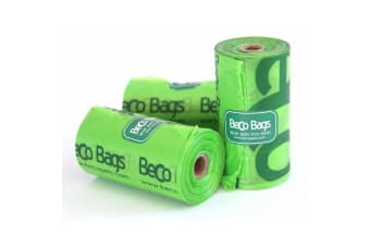 Beco Eco Friendly Plastic Dog Poop Bags (Green)