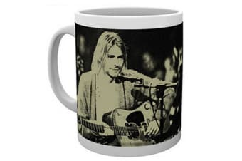 Kurt Cobain Unplugged Ceramic Mug (Multi-Colour) (10 oz)