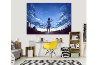 3D Weathering With You 296 Anime Wall Stickers