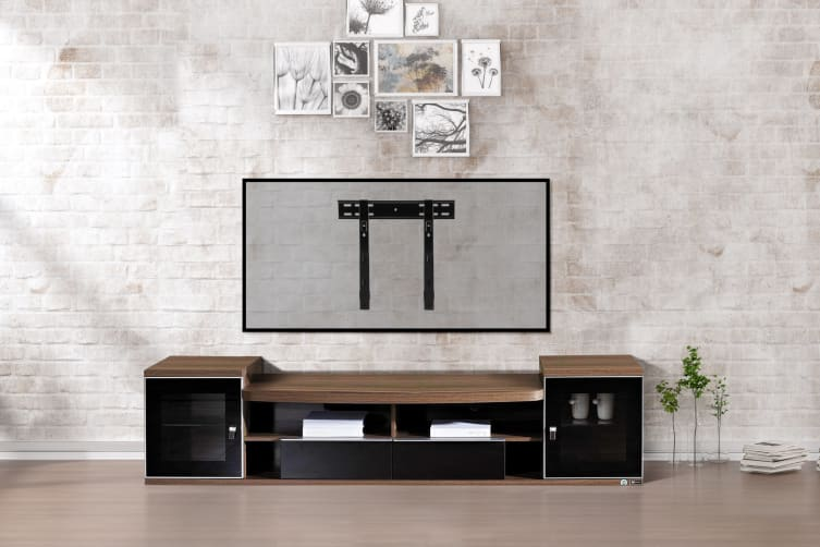"""Kogan Ultra Low Profile Fixed Wall Mount for 32"""" - 75"""" TVs"""