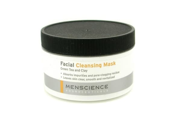 Menscience Facial Cleaning Mask - Green Tea And Clay (90g/3oz)