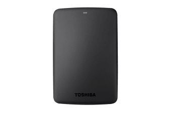 Toshiba Canvio Basics A3 USB 3.0 Portable External Hard Drive 3TB - Black (HDTB330AK3CB)