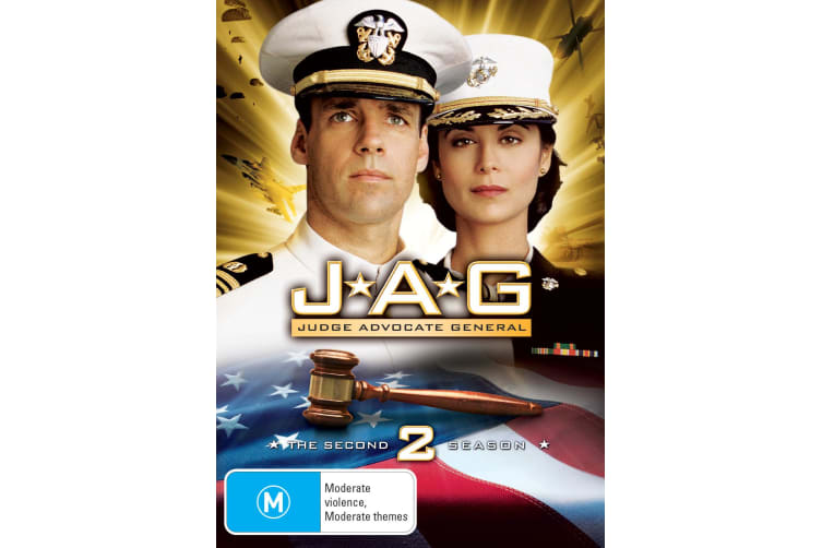 JAG The Complete Second Season 2 DVD Region 4