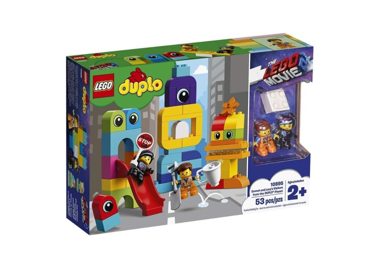Lego Duplo Emmet and Lucy's Visitors from the Duplo Planet 10895
