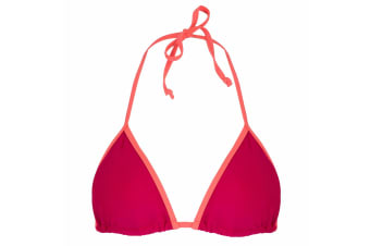 Regatta Great Outdoors Womens/Ladies Aceana Bikini String Top (Dark Cerise)