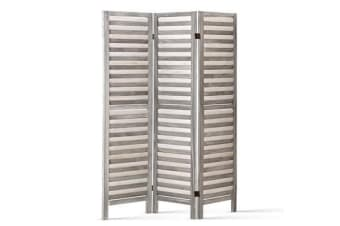 Artiss 3 Panel Room Divider Screen Privacy Grey 170cm