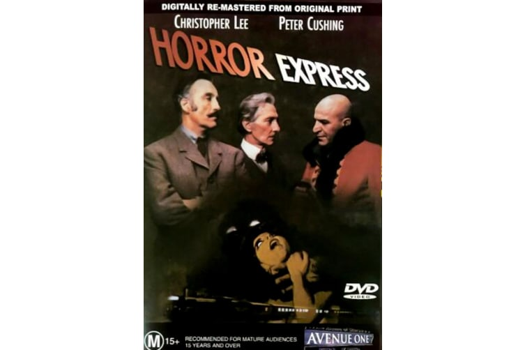 Horror Express - Rare- Aus Stock DVD PREOWNED: DISC LIKE NEW