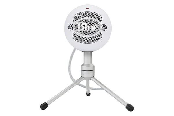 dick smith nz blue snowball ice versatile usb microphone with hd audio white 90021700. Black Bedroom Furniture Sets. Home Design Ideas