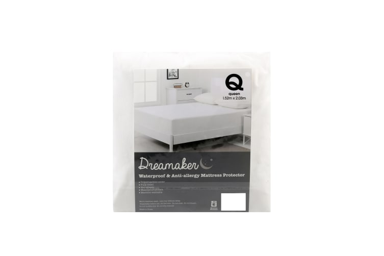 Dreamaker Non Woven Stain Resistant Mattress Protector Kb