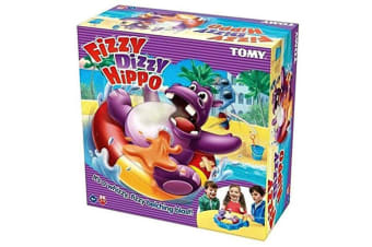 Tomy Fizzy Dizzy Hippo Party Lucky Funny Game for Kids/Children/Family/Friends
