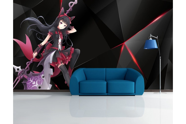 3D Long Weapon 32 Anime Wall Murals Woven paper (need glue), XXL 312cm x 219cm (WxH)(123''x87'')