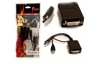 Wicked Wired Active DisplayPort To DVI-D Adapter Cable
