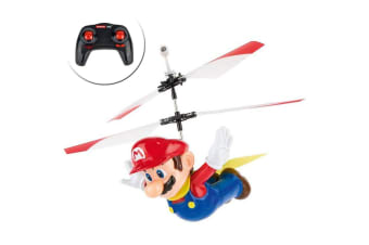 Carrera RC Super Mario Flying Cape Helicopter Toy for Kids/Infant w/ Controller