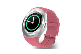 "TODO Bluetooth V3.0 Smart Watch 1.54"" Ips Lcd Rechargeable Bt Sync Android - Pink"