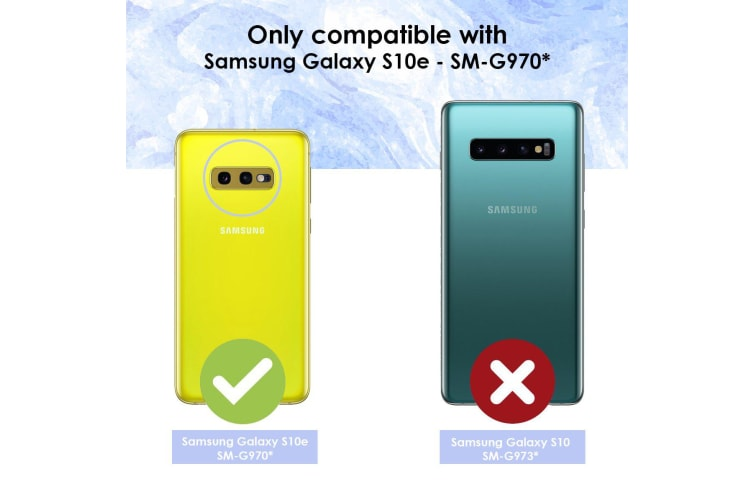 For Samsung Galaxy S10e Case  Armour Strong Shockproof Cover Kickstand  Red