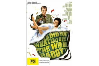 What Did You Do In The War, Daddy? REGION 4 -Comedy Rare- Aus Stock DVD NEW