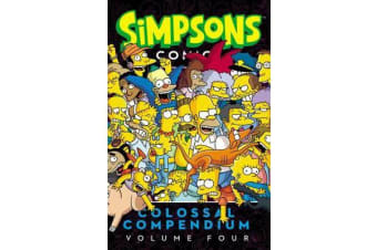 Simpsons Comics Colossal Compendium, Volume 4