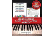 John Thompson's Easiest Piano Course - Complete - 4-Book/Audio Boxed Set