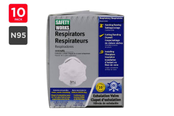 PIP N95 Mask 270-2050 Particulate Respirators with Valve (10 Pack)
