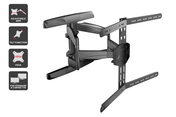 "Kogan Full Motion Universal Wall Mount for 32"" - 75"" TVs"