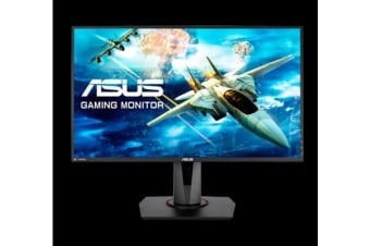 "ASUS VG278Q 27"" Full HD 1080p 144Hz 1ms DP HDMI DVI Eye Care Gaming Monitor with FreeSync/Adaptive Sync"