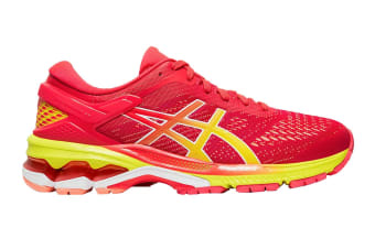 ASICS Women's Gel-Kayano 26 Running Shoe (Laser Pink/Sour Yuzu)